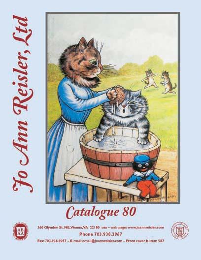 JO ANN REISLER, Ltd. CATALOG 22 CHILDRENS' COLLECTIBLE BOOKS RARE VF-/VF+